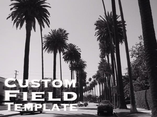 Custom Field Templateのタイトル画像