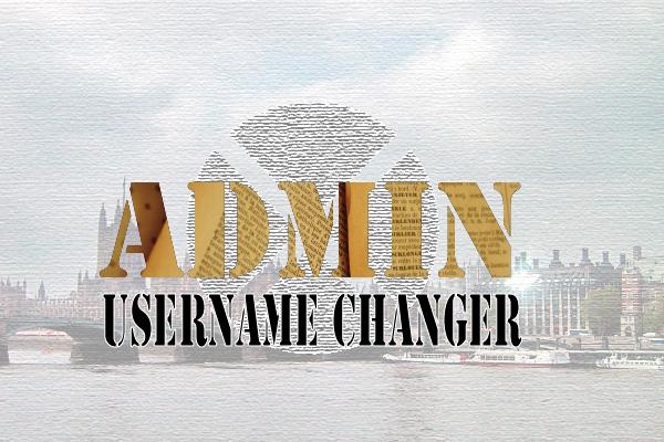 admin sername changer