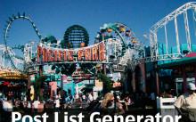 Post-List-Generatorの設定