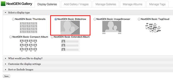 NextGEN-Galleryの使い方・設定21