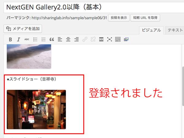 NextGEN-Galleryの使い方・設定26
